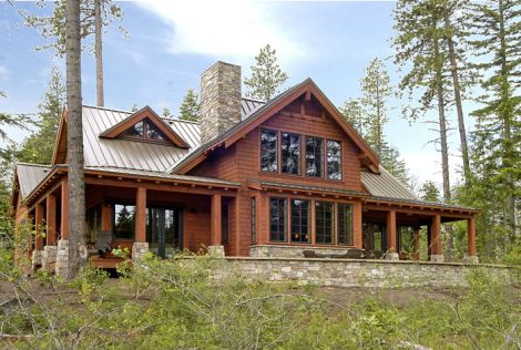 Modular log homes washington state finest log homes log for House plans washington state