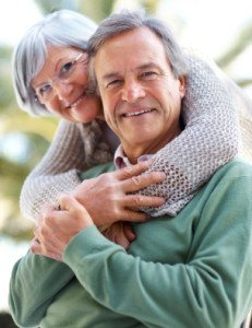 Senior Couple Considering Reverse Mortgage Utah